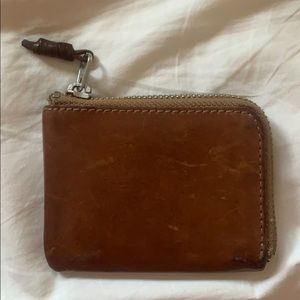 Jcrew men's zipper wallet